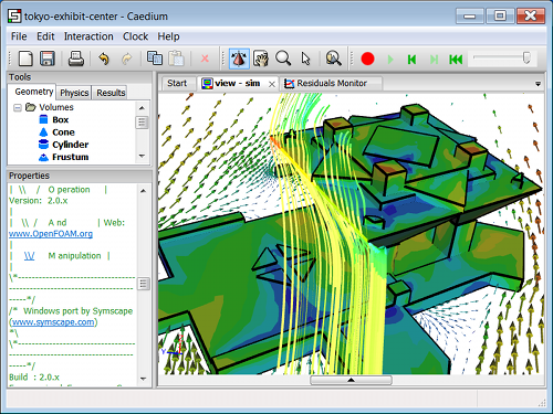 Caedium Using OpenFOAM 2.0.x