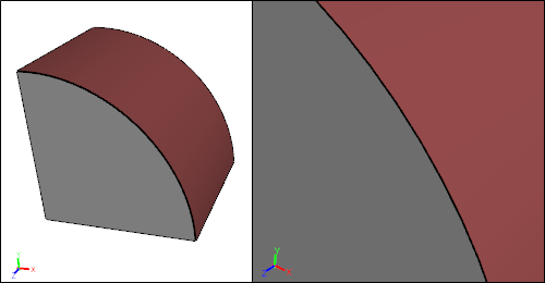 Sliver Surface After Joining With Neighbor