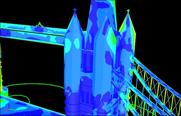 CFD Simulation of Tower Bridge