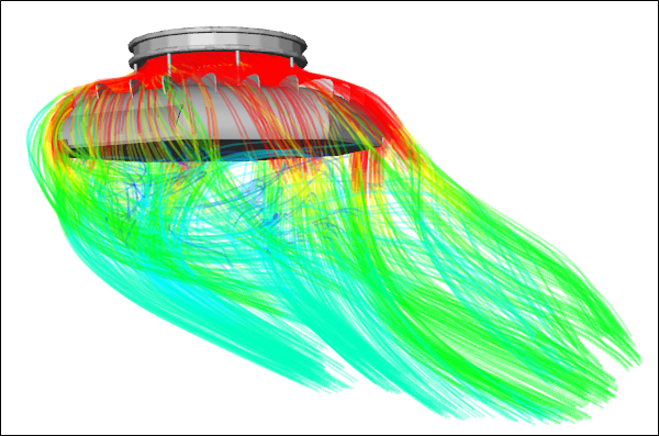 Unconventional UAV CFD Simulation