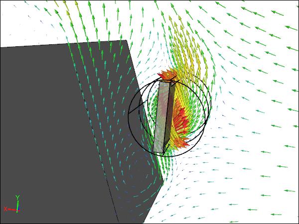 CFD Simulation of a Walkalong Tumblewing