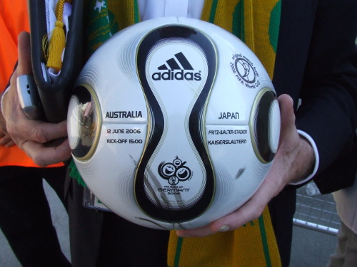 Adidas +Teamgiest World Cup 2006 Ball