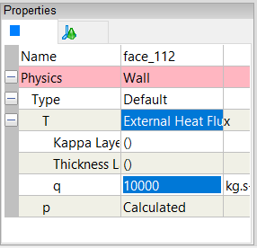 External Wall Heat Flux