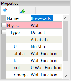 Flow Walls Group Name Property