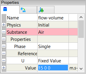 Reference Velocity Property