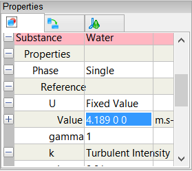 Reference U Properties
