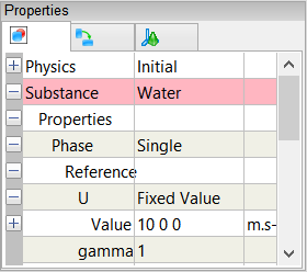 Substance Properties