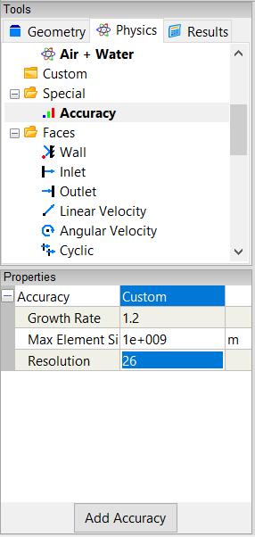 Accuracy Properties