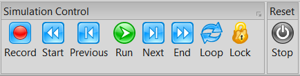 Simulation Control Toolbar