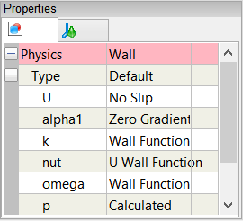Wall Properties